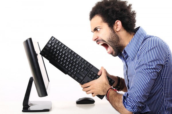 Angry PC user