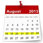August Calendar we 24