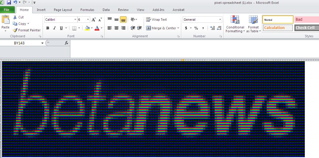 Surprisingly, Microsoft Excel can actually be fun