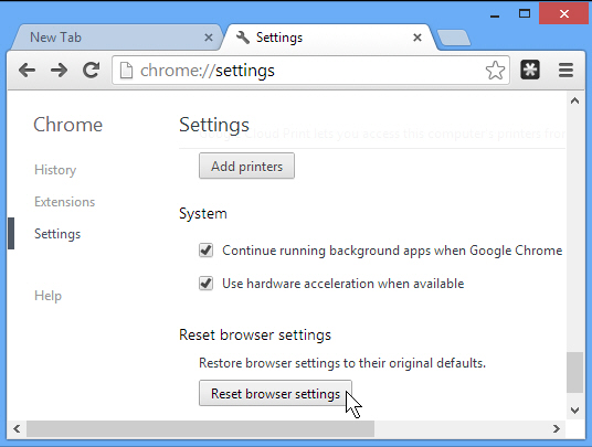 how to turn off location on google chrome android