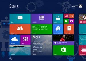 windows 8.1 robot