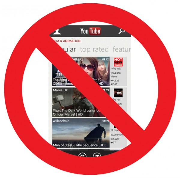 Microsoft's YouTube Windows Phone app is terrible again -- here's