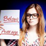 below average fail
