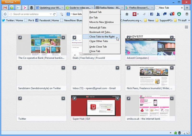 Firefox 24 ships with Close Tab to Right and tear-off social