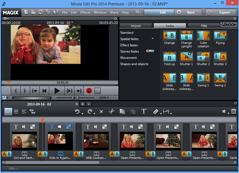 magix movie edit pro 2014 offers improved multi track