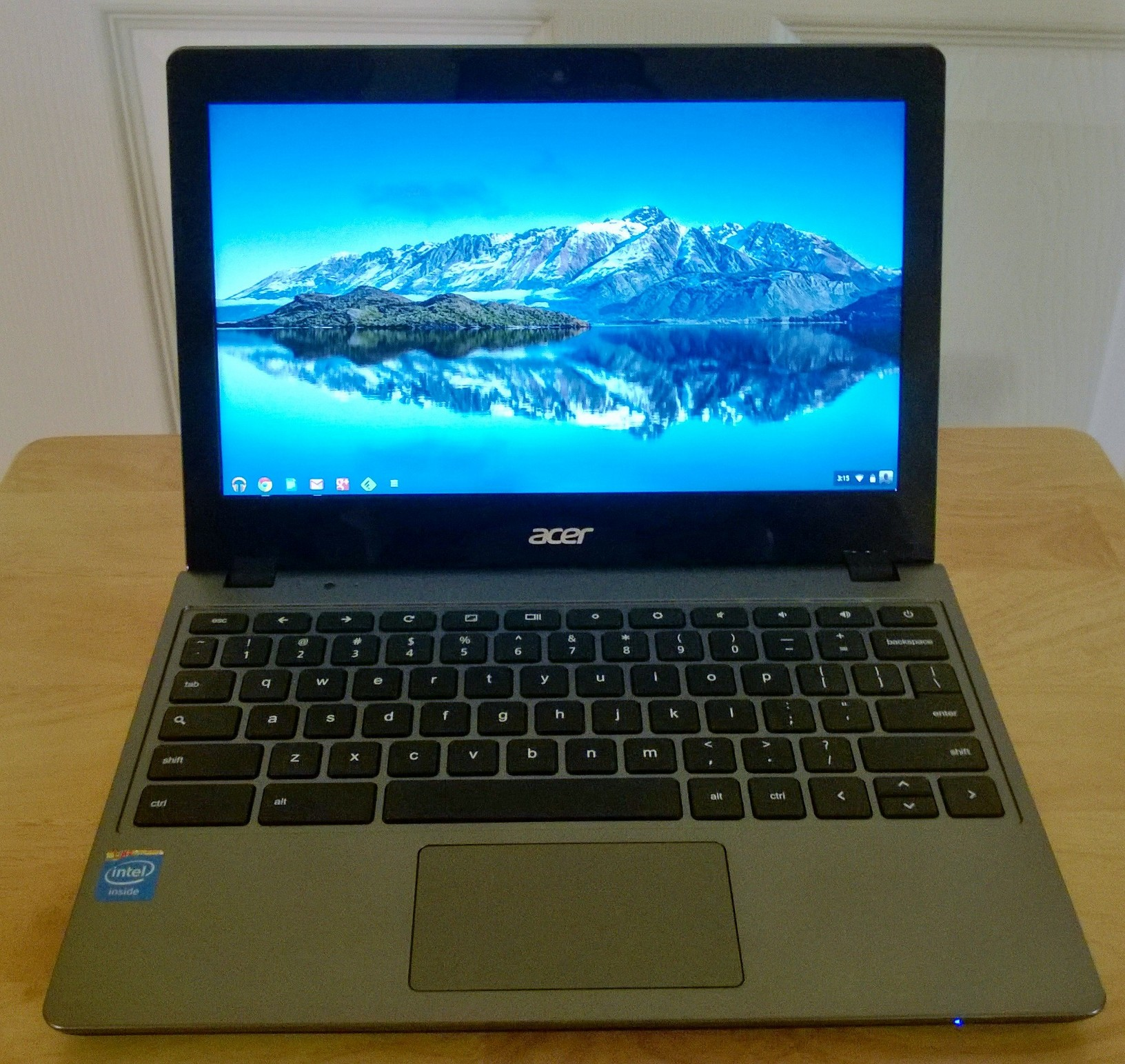 Acer C720-2848 Chromebook -- less RAM, lower price