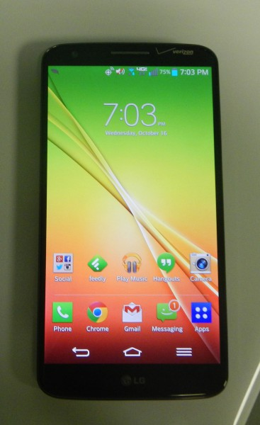 Verizon LG G2 -- an old-school Android smartphone [Review]