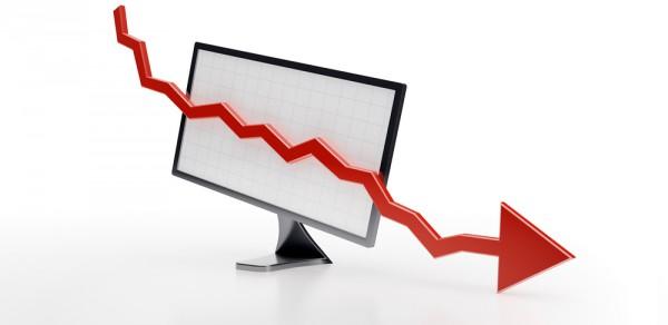 PC decline graph