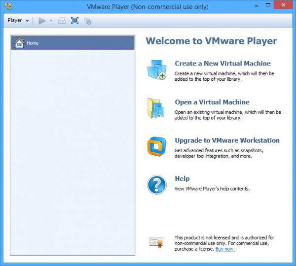 VMware Player 1