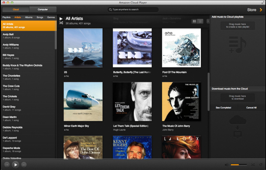 Amazon Cloud Player Comes To Mac Platform Joins Windows