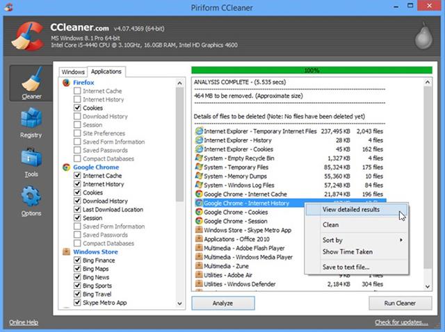 Ccleaner скачать бесплатно для Windows Xp - фото 6