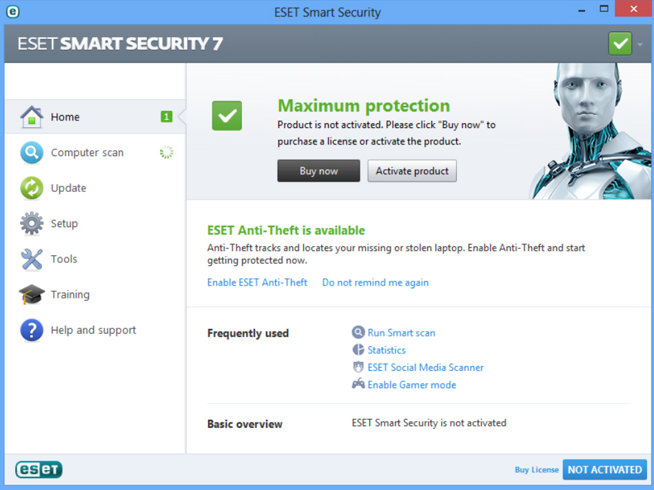 Eset Nod 32 Smart Security 7 Windows 7 8 8 1 Mega