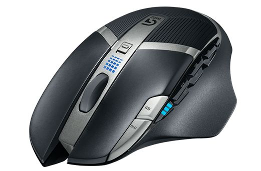 gaming mice with side scroll