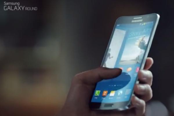 Samsung zeigt seine Kurven in der neuen Galaxy Round-Werbung