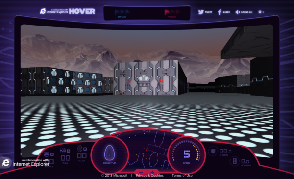 Retrotastic! Microsoft uses 18-year-old game Hover to show