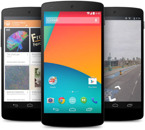 Google officially announced the Nexus 5 -- launch date: now!