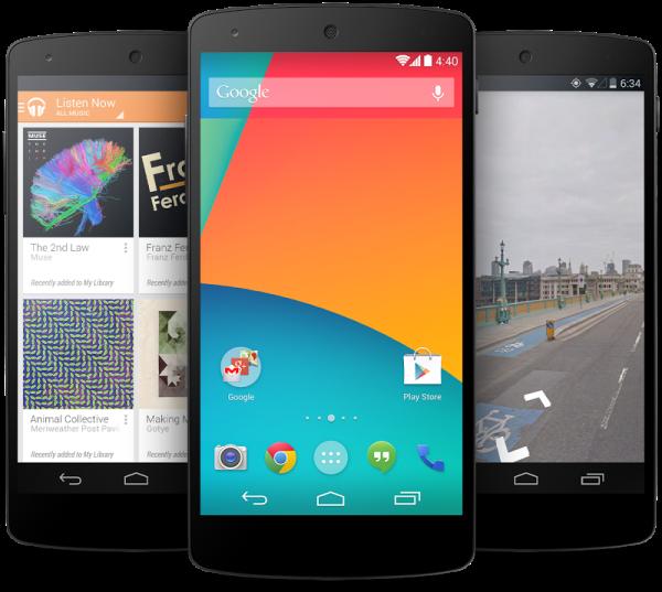 Google hat das Nexus 5 offiziell angekündigt – Starttermin: jetzt!