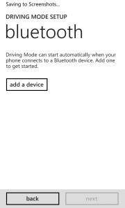 Windows Phone 8 Update 3 Driving Mode 3