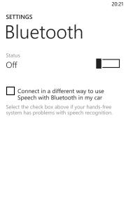 Windows Phone 8 Update 3 Bluetooth 2
