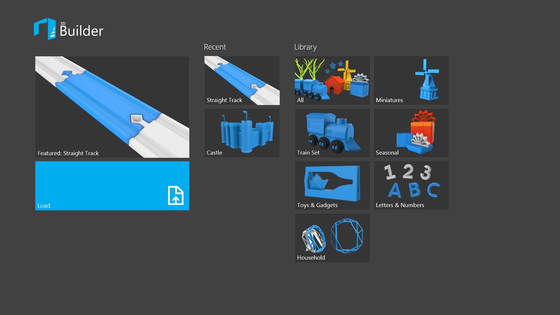 3d builder 3d site
