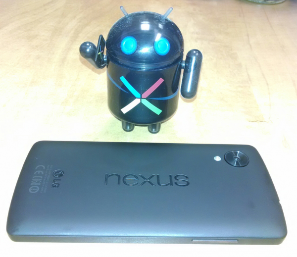 Google Nexus 5 Android-Actionfigur