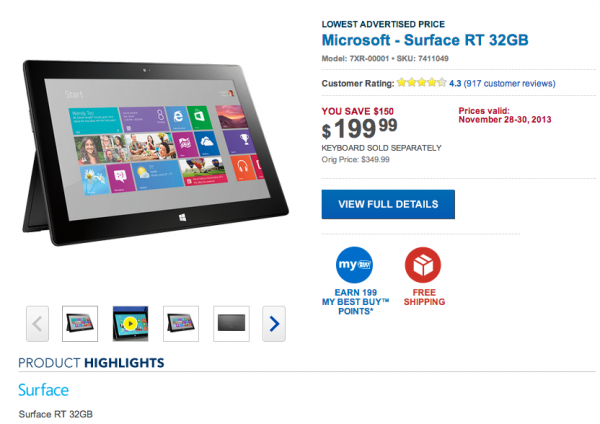 Shop Best Buy for Microsoft Surface tablets, laptops, desktops and accessories.
