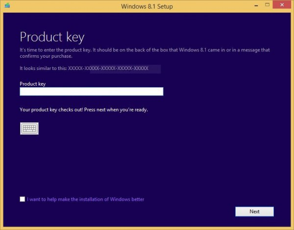 Windows 8.1 USB drive 1