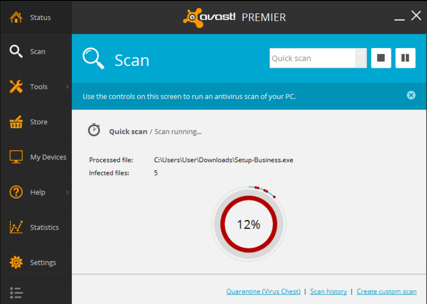 what does avast premier do