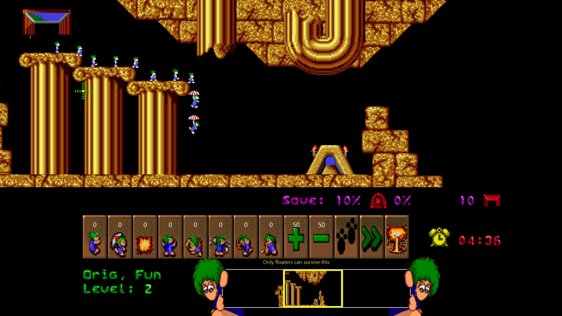 original lemmings game