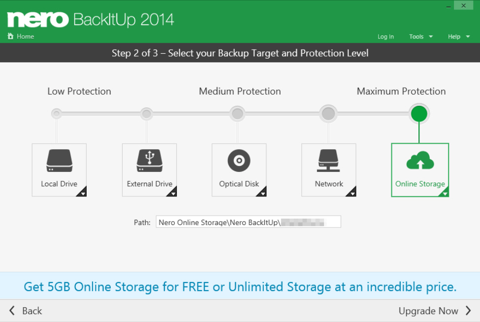 Nero Backitup 2014 Offers 5gb Free Online Storage