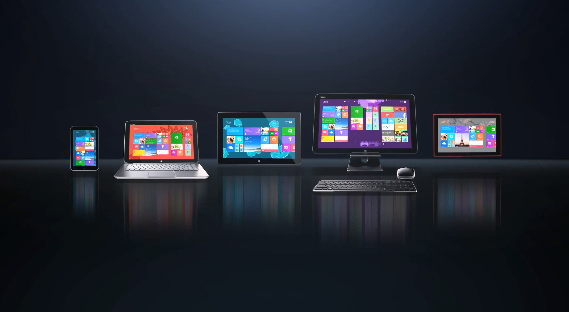 Microsoft showcases new devices for 39 new windows 39 for Latest microsoft windows