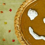 pumpkin pie smiley face