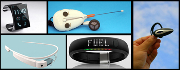 Wearable technological gadgets of the modern day