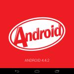 Android 4.4.2 KitKat logo 2013 Wi-Fi Nexus 7