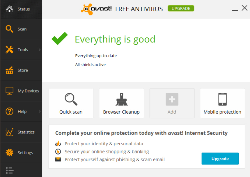 NEW avast EndPoint Protection Suite avast We care about your data. Full protection for your business in one comprehensive package. Product info.