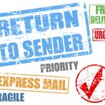 return to sender express mail
