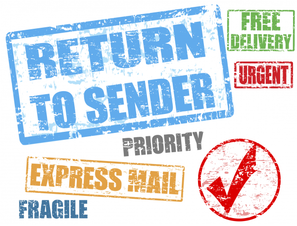 return to sender express mail