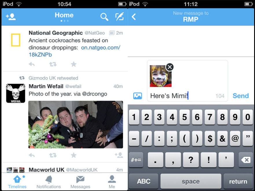 Twitter Updates Ios And Android Apps With New Design