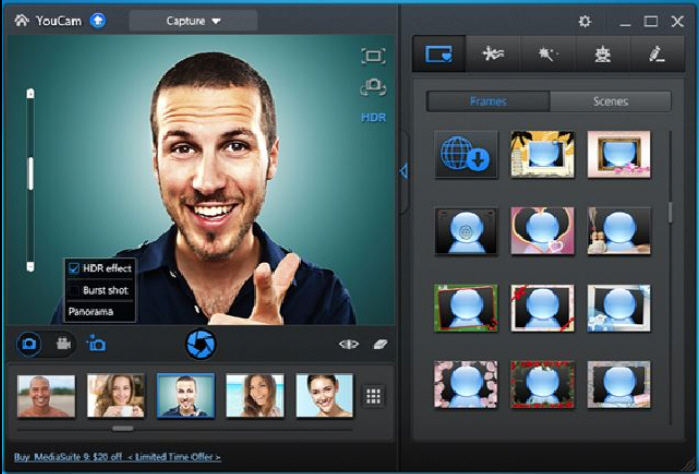 CyberLink YouCam 6 adds new camera shooting mode, touch ...