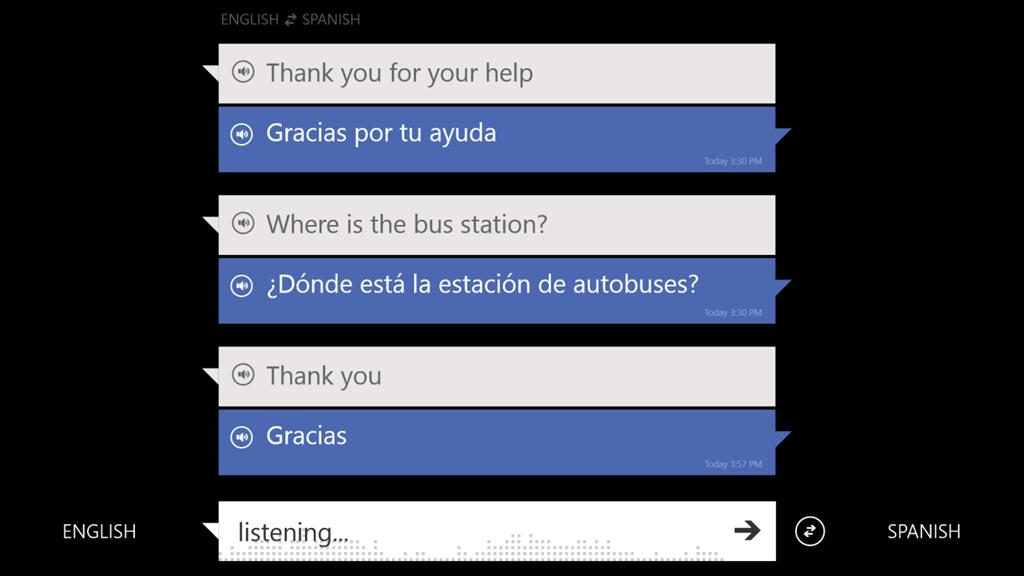 Microsoft br... Bing Translator