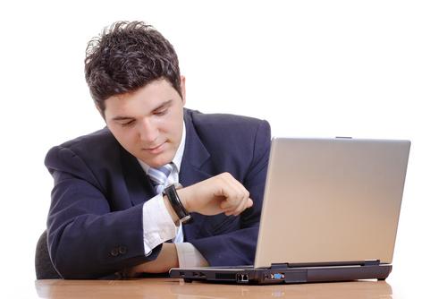 Impatient user