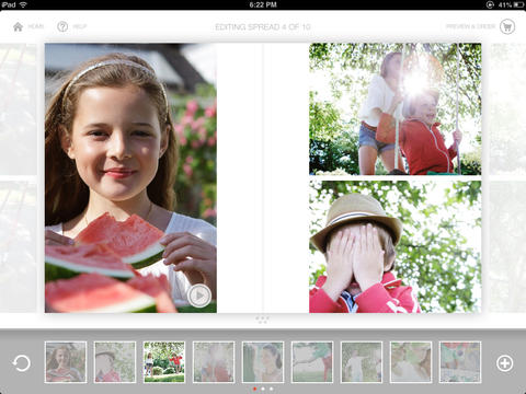 d9300c318eb96 This app lets you create stylish hard cover photo books right from your  iPad
