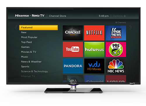 Roku Announces Its Software Is Coming To Smart Tvs