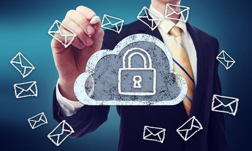 Email cloud vault