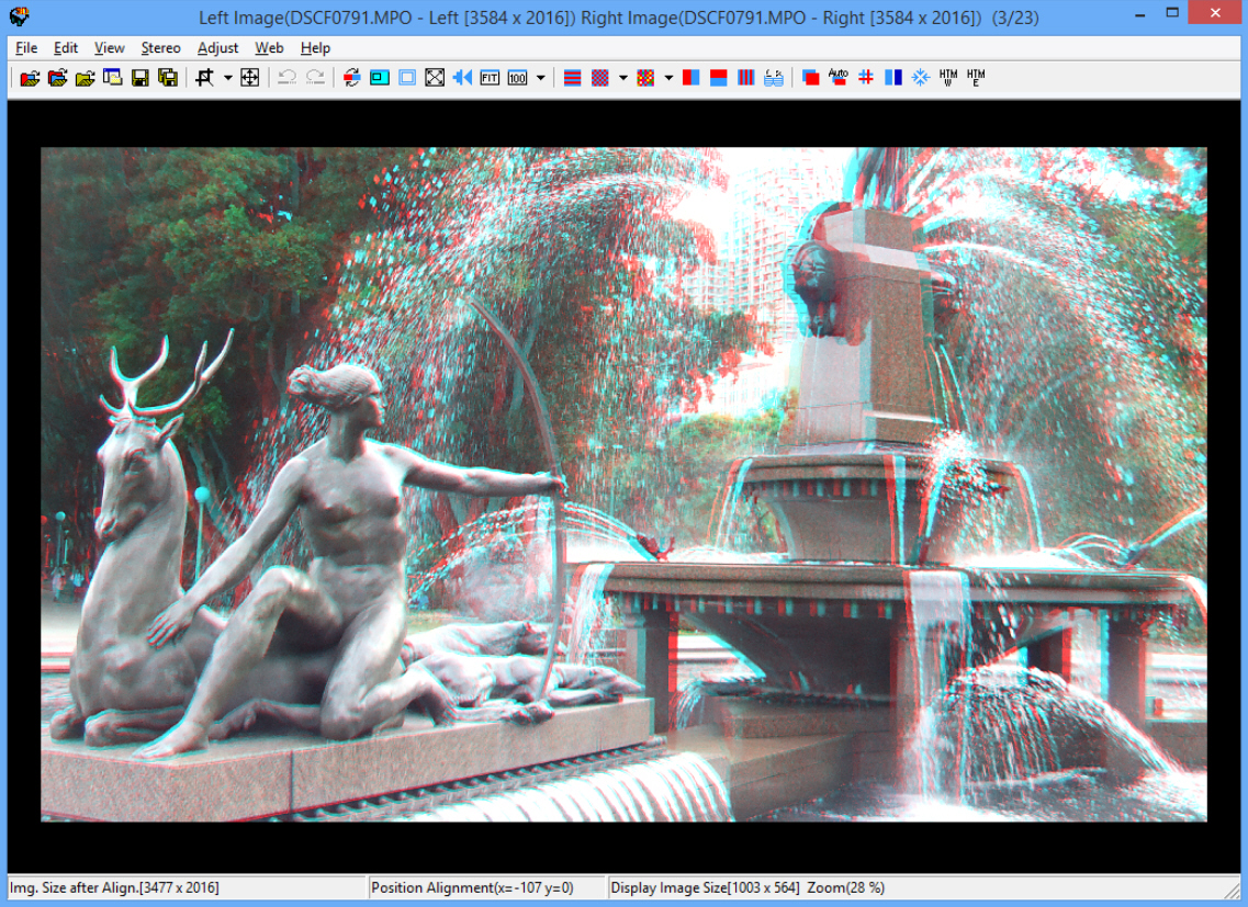 Stereophoto maker create view and work with 3d images for View maker