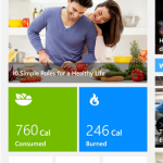 Bing Health & Fitness Windows Phone