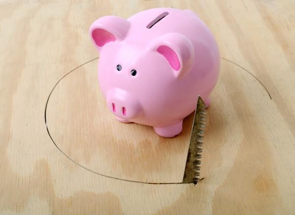 Piggy bank theft