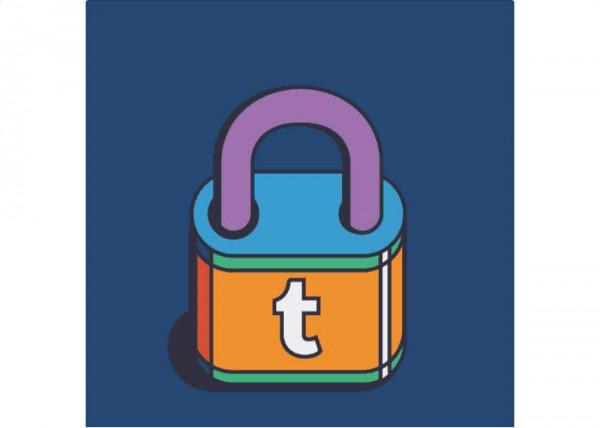 Tumblr padlock image