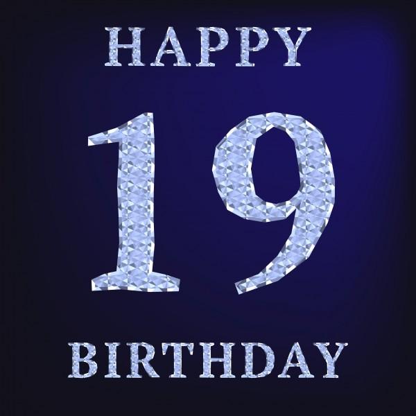 Happy 19th Birthday Quotes Quotesgram Happy 19th Birthday Wishes