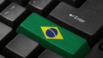 Brazil flag keyboard